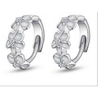 Woman Fashion Diamonds Silver Earrings E-12S