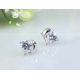 Woman Fashion Zircon Dolphin Earrings E-14S image
