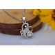 Woman Flower Style With Multi Diamonds Pendant N-02S image