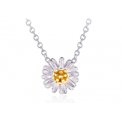 Woman Fashion Small Daisy Flower Clavicle Necklace N-03S