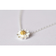 Woman Fashion Small Daisy Flower Clavicle Necklace N-03S image