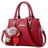 Women Fashion Red Large Korean Version Messenger Hand Bag WB-10RD