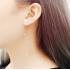 Woman Fashion New Long Style S Wave  Earrings  E-05G