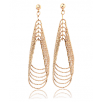 Women Fashion Retro Long Exaggerated Earrings  E-25G