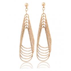 Women Fashion Retro Long Exaggerated Earrings  E-25G
