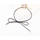 Women Tie Bow Pearl Wild Necklace N-04B image