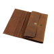 Men's Style Double Layer Card Holder Boarding Long Wallet MW-07LB