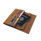 Men's Style Double Layer Card Holder Boarding Long Wallet MW-07LB image