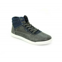 Bata North Star Grey Color Men Fashion Sneakers Shoes B-44