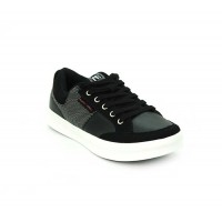 Bata North Star Black Color Men Fashion Sneakers Shoes B-45