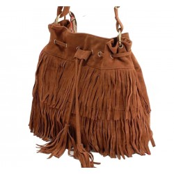 Women Fashion Square Shape Brown Color Shoulder Handbag WB-21BR