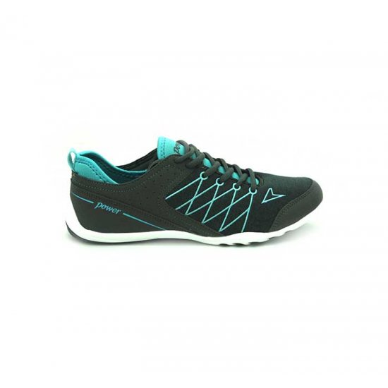 Bata Power Grey Color Sports Shoes For Women B-87