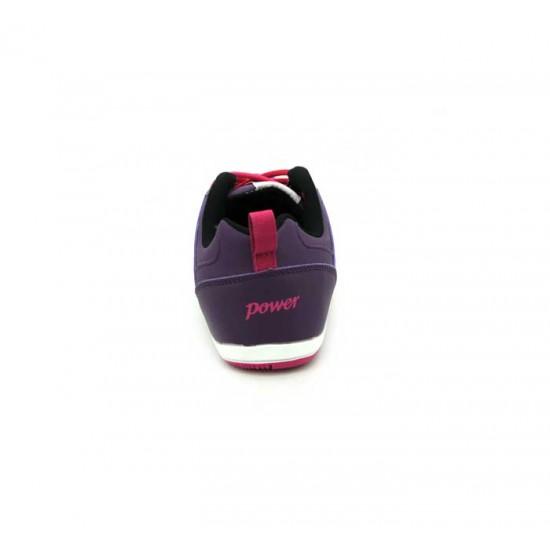 Bata Power Purple Color Sports Shoes For Women B-93
