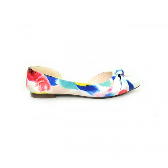 Bata Marie Clarie Multi Color Ladies Ballet Flats B-101