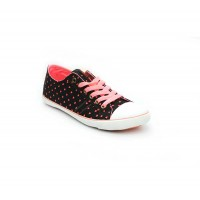 Bata North Star Black Color Sneaker Shoes For Women B-120