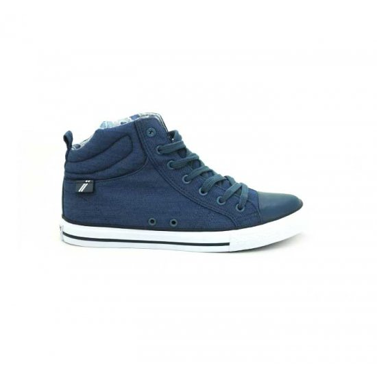 Bata North Star Blue Color Sneaker Shoes For Women B-122