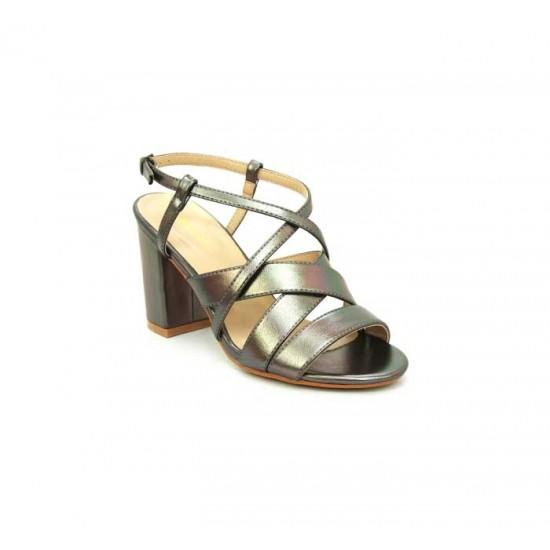 Bata Marie Claire Grey Color Womens Heels B-132