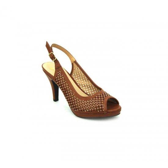 Bata Insolia Brown Color Womens Heels B-134