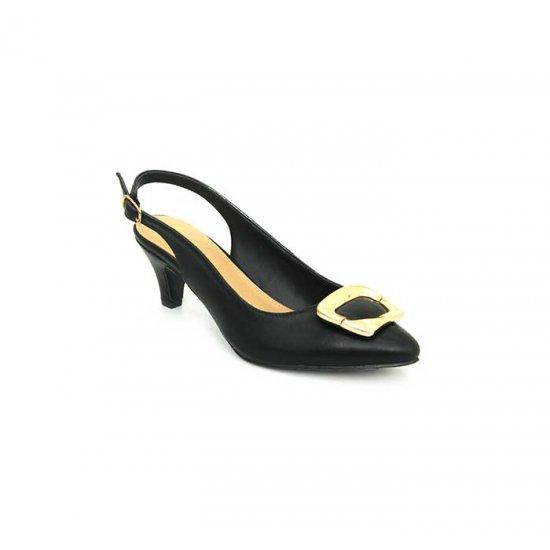 Bata Insolia Black Color Womens Heels B-135bk