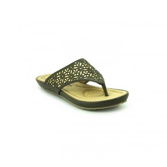 Bata Comfort Green Color Women Slipper B-138