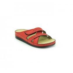 Bata Comfort Red Color Women Slipper B-139