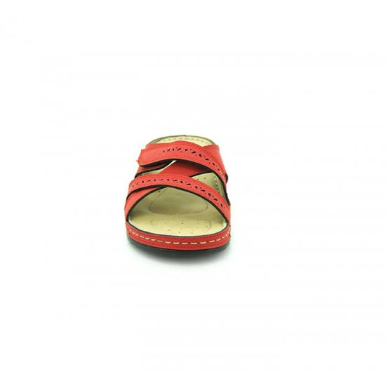 Bata Comfort Red Color Women Slipper B-139