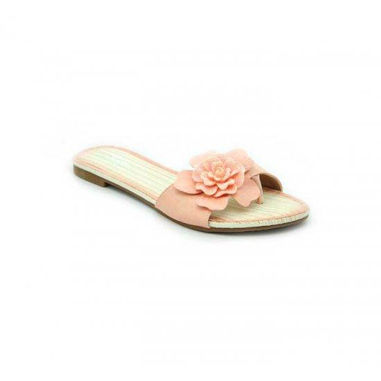 Bata Leena Pink Color Women Slipper B-149