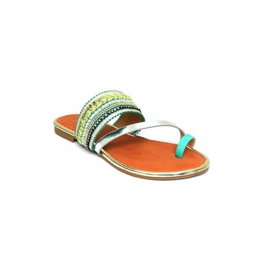 Bata Leena Multi Color Women Slipper B-153