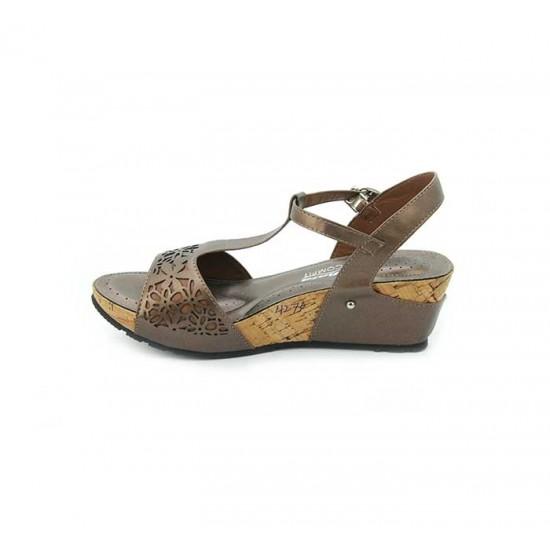 Bata Comfort Brown Color Women Wedge Sandal B-173