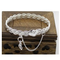 Buddha Hanging Silver Plated Color Love Bracelet For Women  SB-05