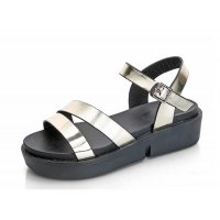 Gold Color  Summer Thick Open Toe Women Sandals S-62