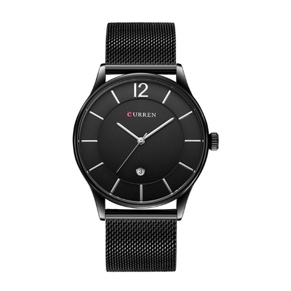 CURREN Casual Black Color Men Watches W-15 image