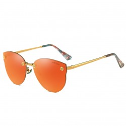 Aoron Design Orange Personality Polarized Unisex Sunglasses G-02 (Orange)