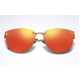 Aoron Design Orange Personality Polarized Unisex Sunglasses G-02 (Orange) image