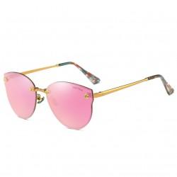 Aoron Design Pink Personality Polarized Unisex Sunglasses G-02 (Pink)