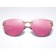 Aoron Design Pink Personality Polarized Unisex Sunglasses G-02 (Pink) image