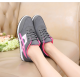 Women Fashion Grey Breathable Sports Shoes S-74GR image