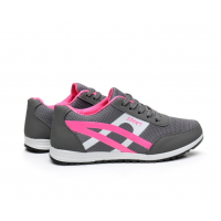 Women Fashion Grey Breathable Sports Shoes S-74GR