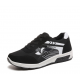 Women Comfty Black with White Shade Jogging Sports Shoes S-75BW