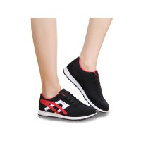 Women Fashion Black Breathable Sports Shoes S-74BK
