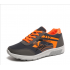 Women Comfty Grey with Orange Shade Jogging Sports Shoes S-75GR