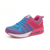 Women Air Cushion Running Blue Jogging Sports Shoes S-79BL