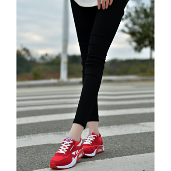 Women Comfortable Wild Breathable Light Running Sports Shoes S-80RD