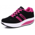 Women Breathable Black Light Weight Soft Running Sports Shoes S-81BK