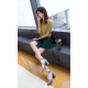 Women Word Buckle Light Purple High Heels Sandals S-84PR image
