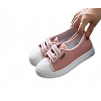 Women Light Stylish Canvas Sneaker Shoes S-86PK