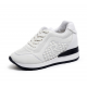 Women Breathable High Slope Running Sports White Shoes S-90W