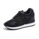 Women Breathable High Slope Running Sports Black Shoes S-90BK