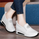 Women Thick Slope Bottom Lazy Sports Running Shoes S-93WT image