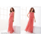 Women Latest Style Bohemian Retro Lotus Leaf Elegant Long Dress WC-84PK image